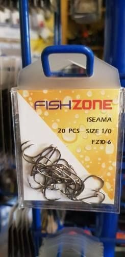 Iseama hooks size 1/0, livebait, crab baits..ideal bass, pollack,super sharp